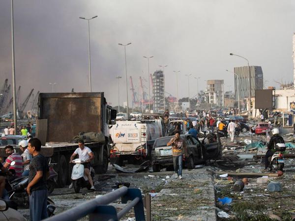 """Qubernator: """"Beyrut limanına dəyən ziyan 3-5 milyard dollar civarındadır"""""""