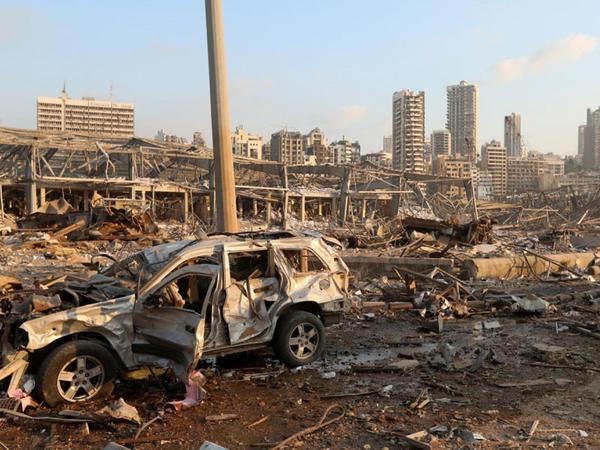 Beyrut limanında baş verən partlayış taxıl ehtiyatının 85 faizini məhv edib