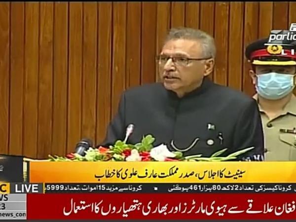 Pakistan Prezidenti Dağlıq Qarabağda törədilən soyqırımıdan danışıb