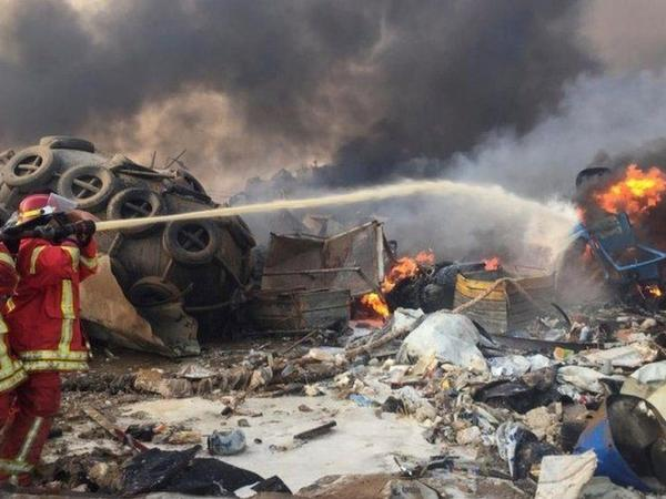 Beyrutda baş verən partlayış nəticəsində ölənlərin sayı artıb