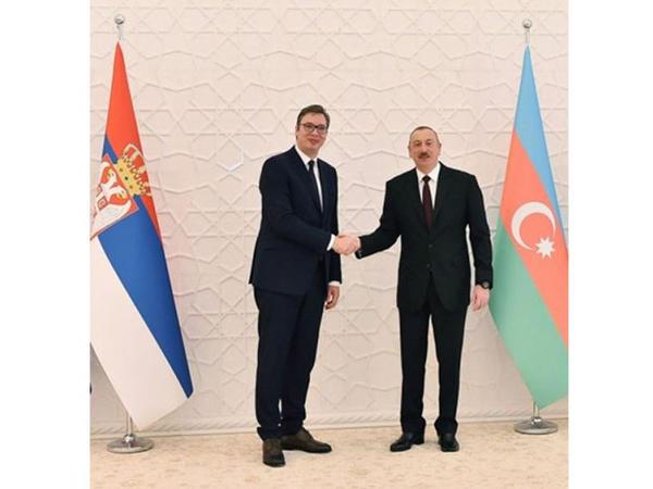 Serbiya Prezidenti Aleksandr Vuçiç Prezident İlham Əliyevə zəng edib