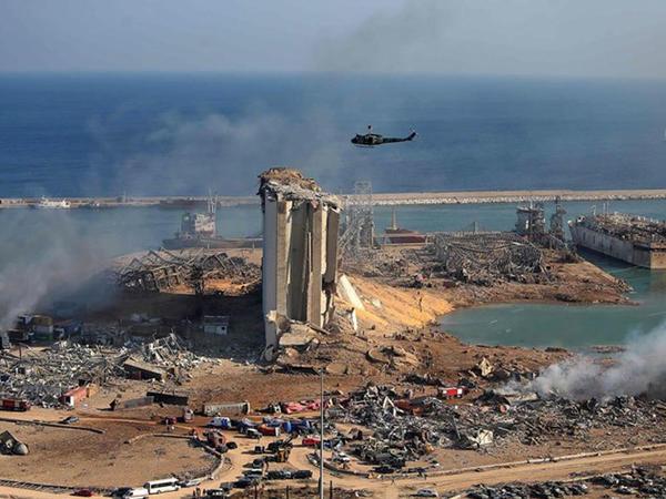 Türkiyə kəşfiyyatı Beyrutdakı partlayışın səbəbini araşdırır
