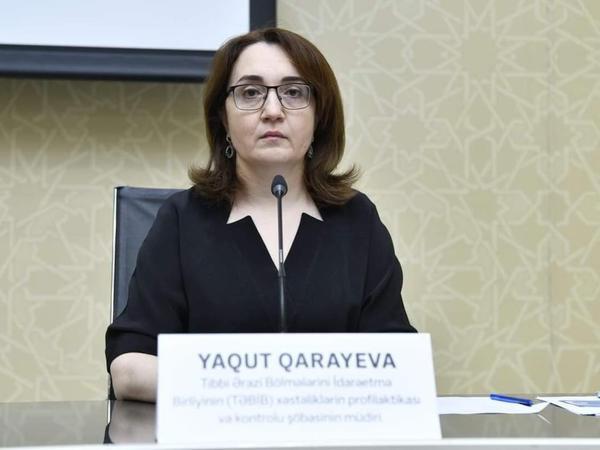 """Yaqut Qarayeva ölən tibb işçiləri haqda: """"Təəssüf ki..."""""""