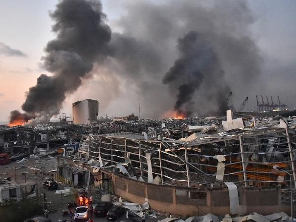 Beyrutda baş vermiş partlayış nəticəsində ölənlərin sayı 158-ə çatıb