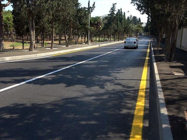 Bakıda 18 km yol yenidən qurulur - FOTO