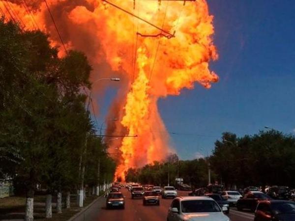 """Rusiyada güclü partlayış: 13 yaralı - YENİLƏNİB - <span class=""""color_red""""> VİDEO</span>"""