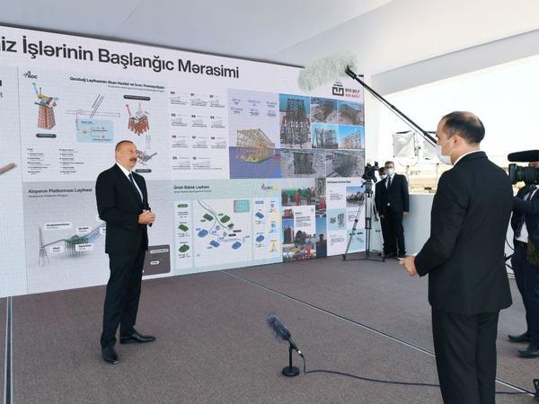 Prezident İlham Əliyev: Bütün layihələr uğurla icra edilir