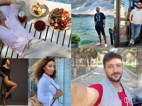 "Azərbaycan şou-biznesi İnstagram-da - <span class=""color_red""> FOTO</span>"