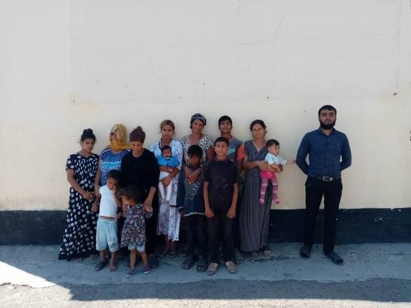 Azərbaycan-Gürcüstan sərhədini qanunsuz keçmək istəyən 14 nəfər saxlanıldı - FOTO
