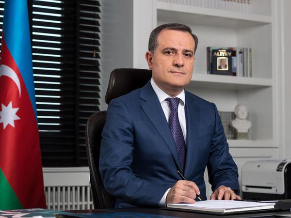 """Ceyhun Bayramov: """"Biz münaqişənin siyasi yolla, danışıqlarla həll edilməsi tərəfdarıyıq"""""""