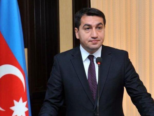 Hikmət Hacıyev: Fransa Senatının bu qətnaməsi Azərbaycan üçün adi kağız parçasından başqa bir şey deyil