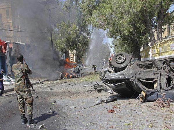 Somalinin paytaxtında terror aktı törədilib