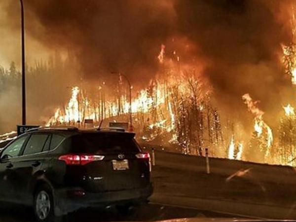 Kanadada meşə yanğınları, 3,8 min insan təxliyə edildi