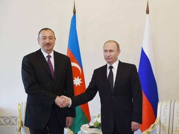 Prezident İlham Əliyev Vladimir Putinə zəng edib