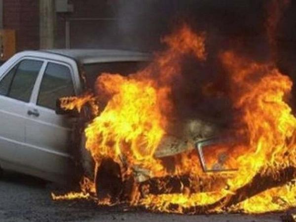 Ağstafa və Salyanda avtomobil yanıb