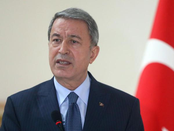 Hulusi Akar: 83 milyonluq xalqımızın nəbzi Azərbaycan ilə döyünür