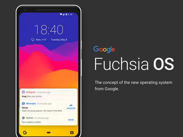 """Google Fuchsia OS"" sistemi sertifikasiyadan keçib"