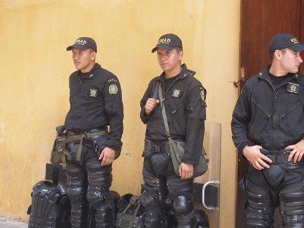 Kolumbiyada polis məntəqəsi yaxınlığında qumbara partladılıb