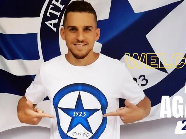 """Sumqayıt""dan ayrılan futbolçu Yunanıstan klubunda"