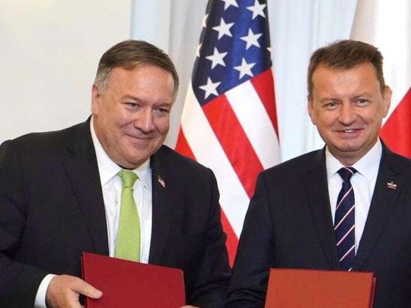 ABŞ və Polşa müdafiə razılığı imzalayıblar