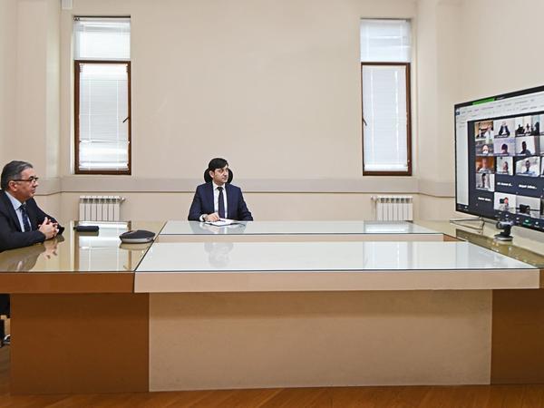 Regional Rabitə Birliyinin Telekommunikasiya və İnfokommunikasiya Operatorları Şurasının iclası keçirilib - FOTO