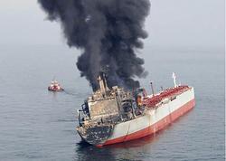 """Yunanıstanda gəmi partladı: <span class=""""color_red"""">yaralananlar var</span>"""