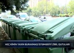 Heç kimin yaxın buraxmaq istəmədiyi zibil qutuları - VİDEO - FOTO