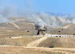 Naxçıvanda Azərbaycan-Türkiyə birgə hərbi təlimləri keçirilib - FOTO