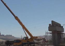 Bakının şimal girişində bir körpü və iki yolötürücüsü inşa olunur - VİDEO