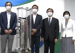 Ultrabənövşəyi şüalar vasitəsilə koronavirusu məhv edən robot hazırlanıb