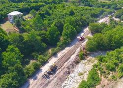 11 yaşayış məntəqəsini birləşdirən yeni yol tikilir - FOTO
