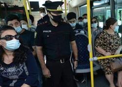 Bakı polisi avtobuslarda reydlər keçirir