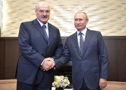 Lukaşenko ilə Putin arasında görüş keçirilib