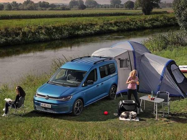 Volkswagen Caddy California kemperini təqdim edib - FOTO