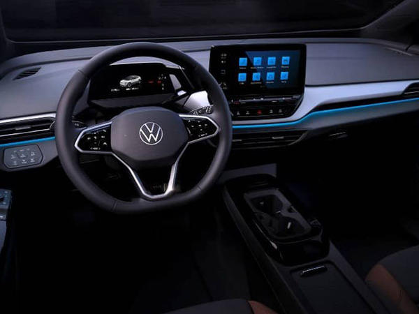 Volkswagen ID.4 modelinin interyerini nümayiş etdirib - FOTO
