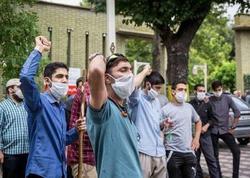 Tehranda Ermənistan səfirliyi önündə aksiya keçirilib - FOTO
