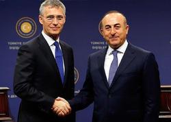 Çavuşoğlu və NATO-nun baş katibi arasında telefon danışığı olub