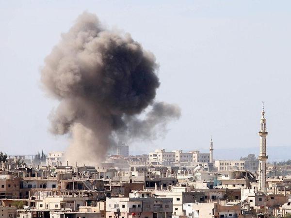 Suriyada güclü partlayış baş verib