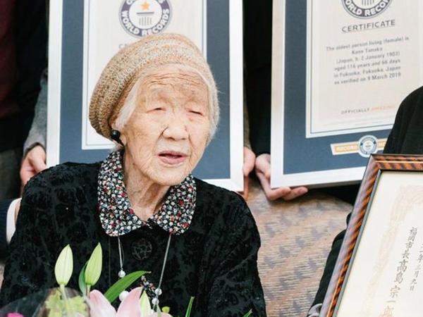 117 yaşlı qadın yeni rekorda imza atdı