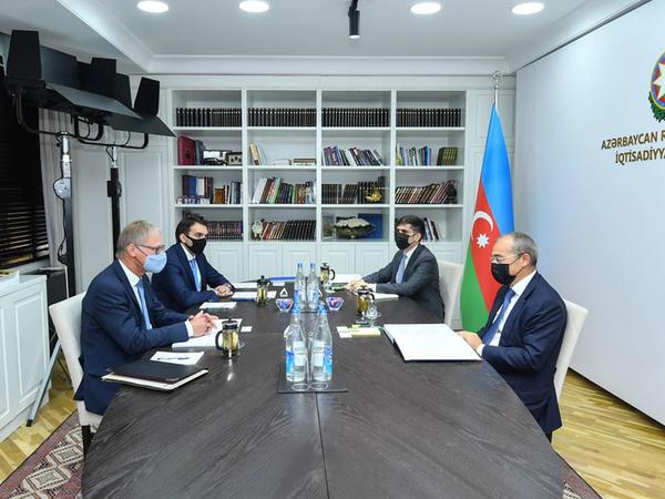 Azərbaycan-Almaniya iqtisadi əməkdaşlığı müzakirə edilib - FOTO