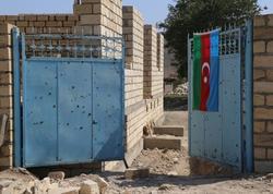 Ağdamda ermənilər tərəfindən öldürülən 76 yaşlı sakinin evi yenidən tikilir - FOTO