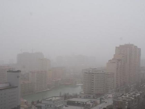 Bakı şəhəri və Abşeron yarımadasında tozun miqdarı normadan artıqdır