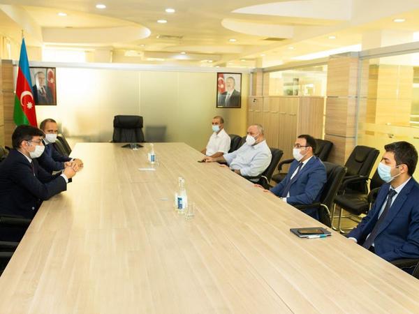 """Dövlət Agentliyi """"CISCO"""" şirkəti ilə əməkdaşlığı genişləndirir - FOTO"""