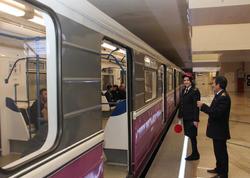 """Metroda qatarlar gecikir - <span class=""""color_red"""">SƏBƏB - YENİLƏNİB - FOTO</span>"""