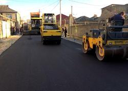 Sabunçuda yolların yenidən qurulmasına 8,3 milyon manat ayrılıb