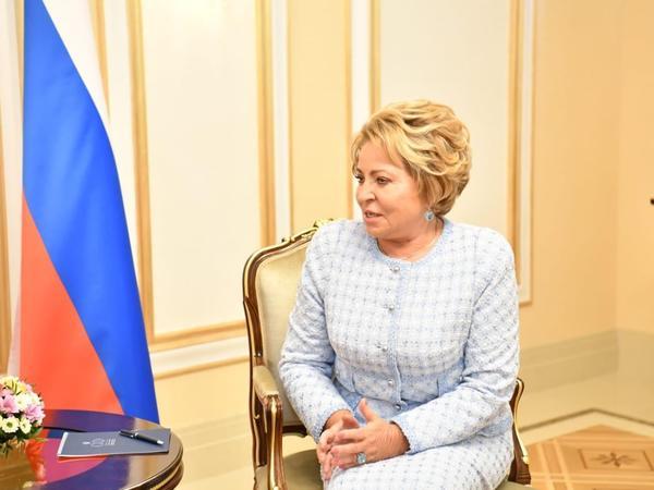"""Valentina Matviyenko: Azərbaycan bizim üçün strateji tərəfdaş olub və belə olaraq da qalır - <span class=""""color_red"""">FOTO</span>"""