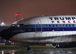 ABŞ vitse-prezidentinin təyyarəsi quşla toqquşmadan sonra hava limanına dönüb