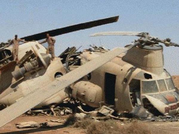 Liviyada hərbi helikopter qəzaya uğradı
