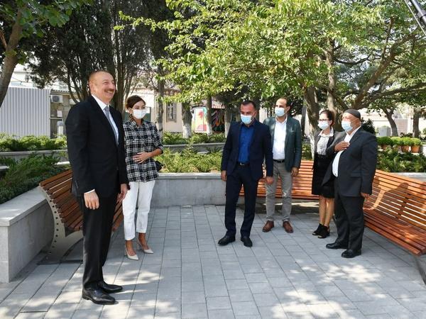 Prezident İlham Əliyev: Azərbaycanda neft insanların rifah halının yaxşılaşmasına xidmət göstərir
