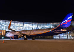 """Rusiya aviaşirkəti aylar sonra <span class=""""color_red"""">Bakıya ilk uçuşunu etdi - FOTO</span>"""